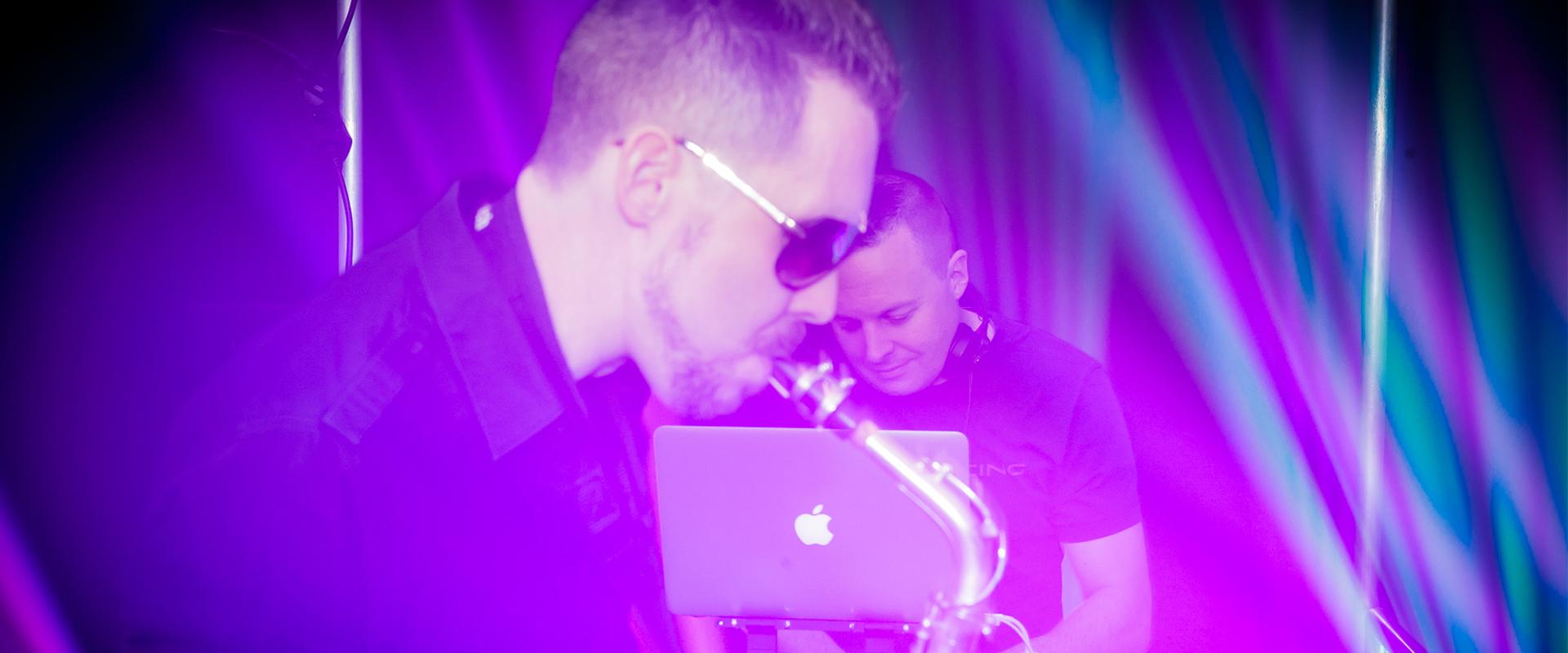 DJ och Saxofonist