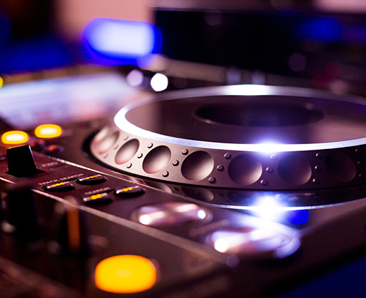 DJ spelare