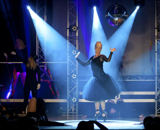 Dansare i ljus
